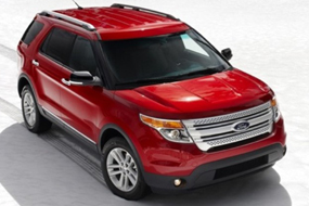 Ford Explorer Limited 2011 neuf