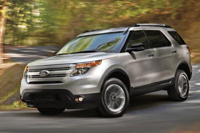 Ford Explorer Limited 2012 neuf