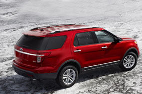 Ford Explorer Limited 2013 neuf