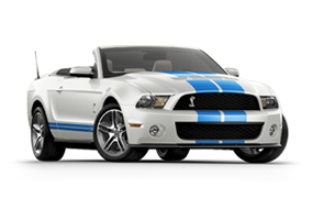 Ford Shelby GT500 Cabriolet 2010 neuf